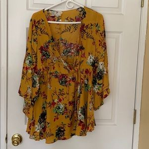 Floral Cover Up/Dress
